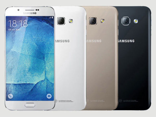 Samsung Galaxy A8 (SM-A800S) Specifications Leaked [Report]