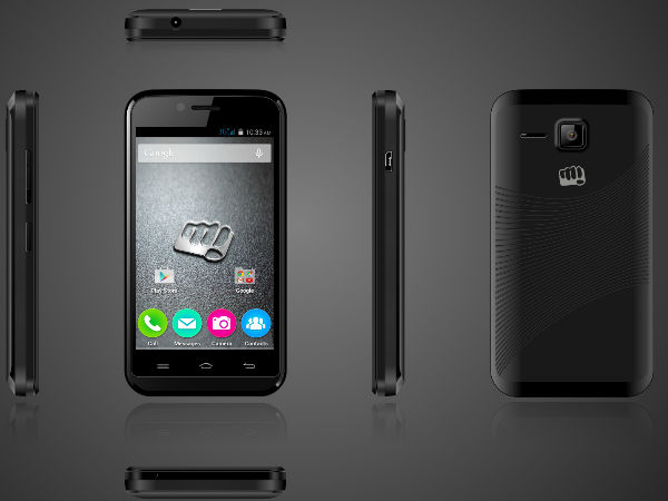 Micromax Bolt 301 with Android Kitkat launched for Rs 2,899