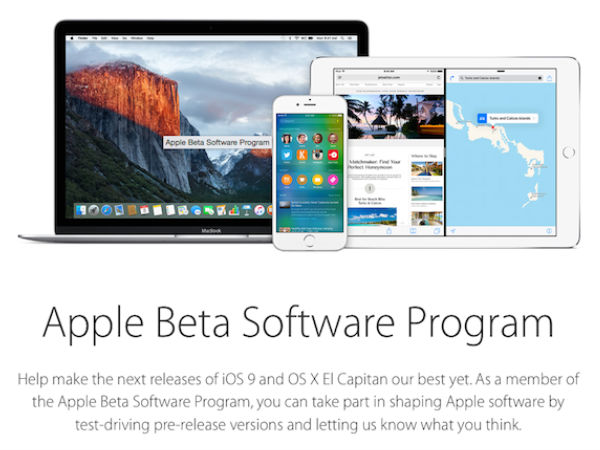 Apple Releases iOS 9 Third Beta and OS X El Capitan for Public