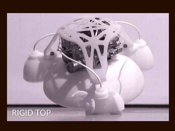 3D-printed soft robot jumps like humans