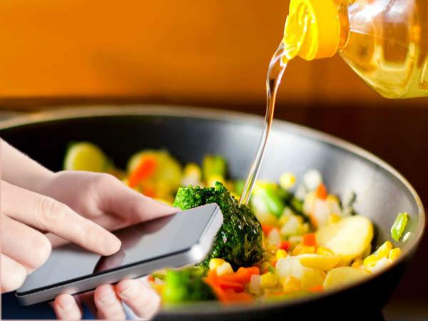 Smartphones pushing millennials to cook