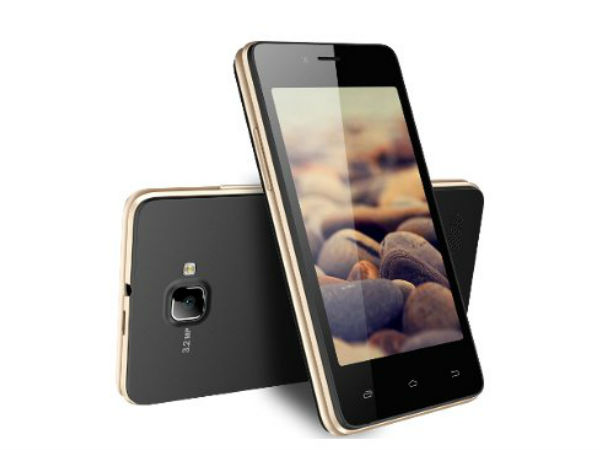 Spice X Life 406 Launched in India For Rs 3,799