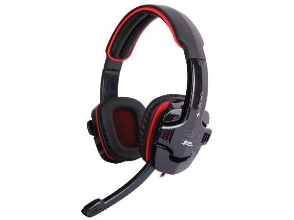 Zebronics First 3D 7.1 Surround Sound 'Iron Head' Headphones Launched