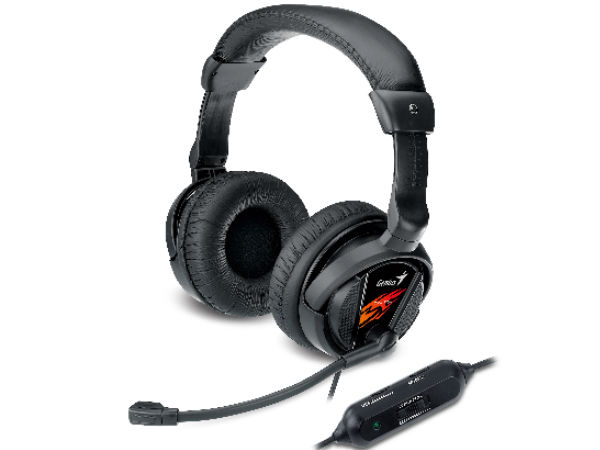 Genius HS-G500V: New Gaming Headset With 'Vibration' Function