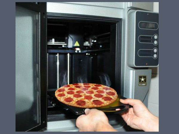 Get ready for 3D printed customised pizza!