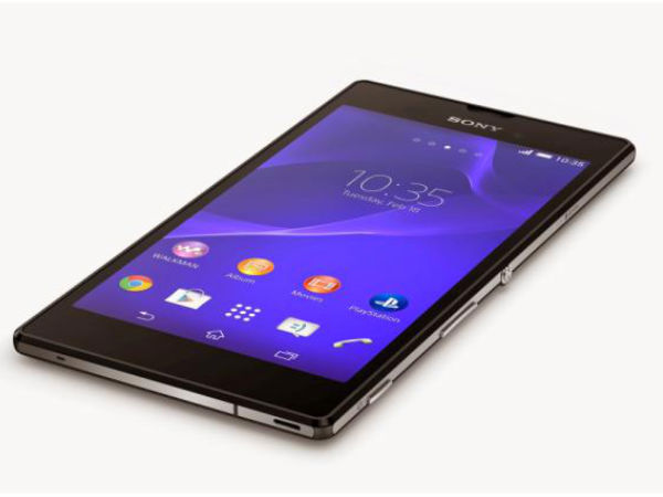 Bezel Less Sony Xperia T4 Ultra Coming In August What S