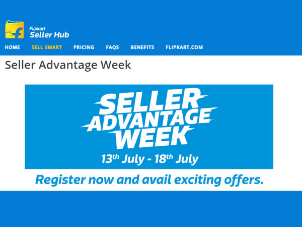 Flipkart Announces 'Seller Advantage Week', An Initiative For Sellers