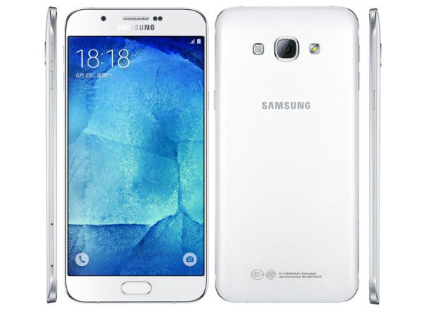 Samsung Galaxy A8 with 5.7inch Display, Fingerprint Sensor is Official