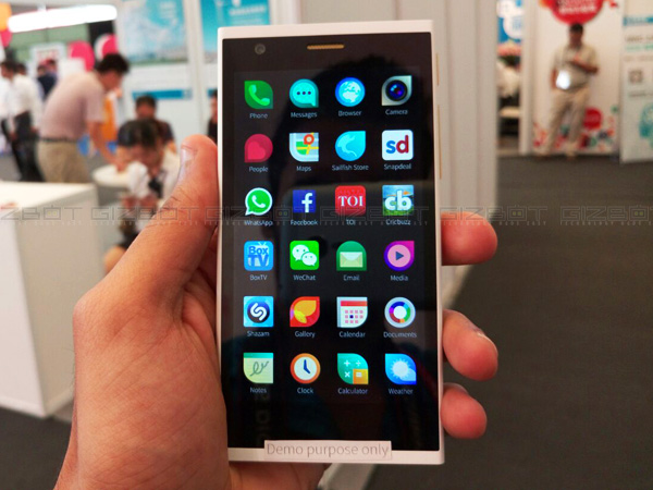 MWC Shanghai 2015: Intex Showcases Aqua Fish smartphone with