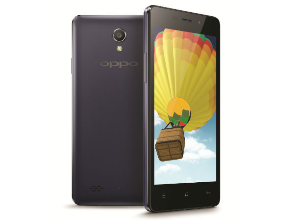 Oppo Joy 3 Launched: Sports 4.5 Inch Display, Quad-Core Processor