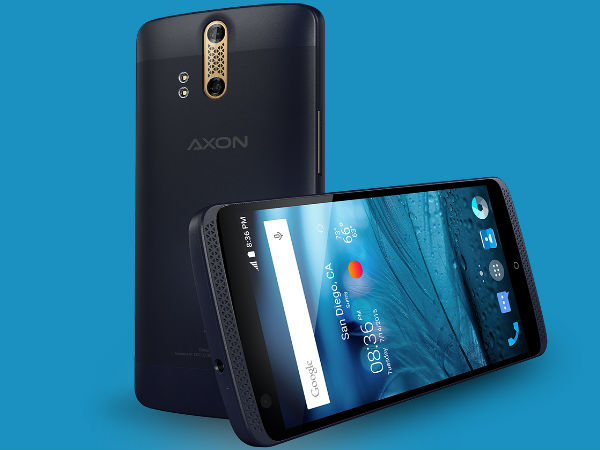 ZTE unveils 'Axon' phone in US market
