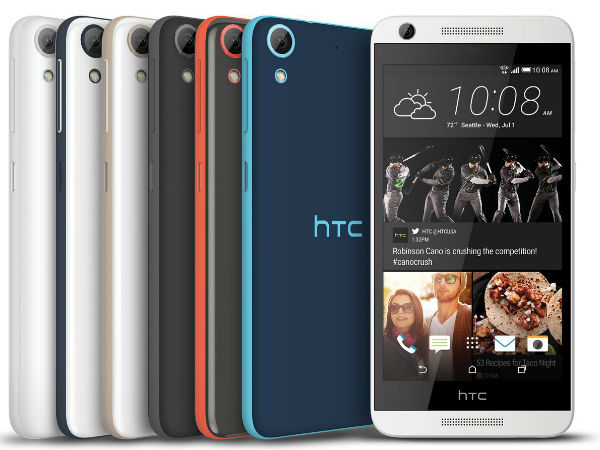 HTC Desire 520, Desire 526,  626 and 626s smartphones launched
