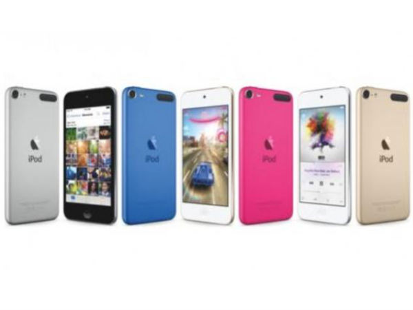 Apple Announces Refreshed iPod Touch With New Colors