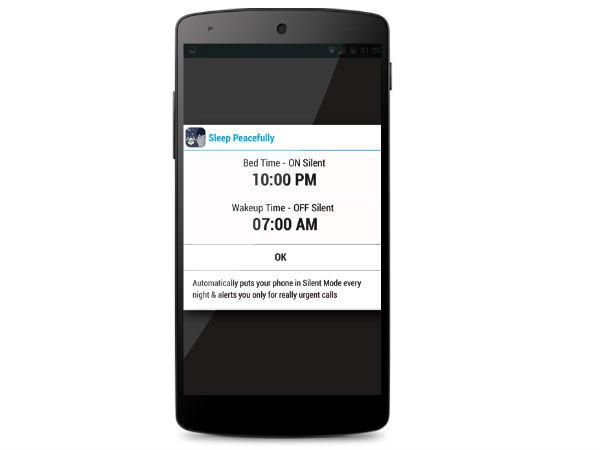 Meet the Sleep Peacefully : An app that can improve your sleep!