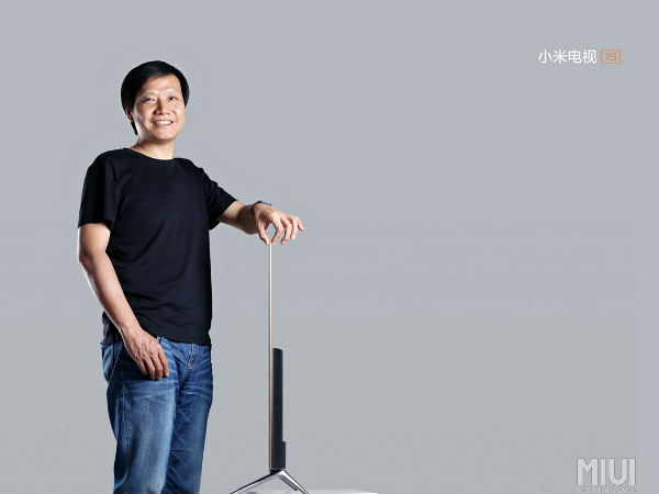 Xiaomi Unveils Mi TV 2S Television With 48 Inch 4K Display