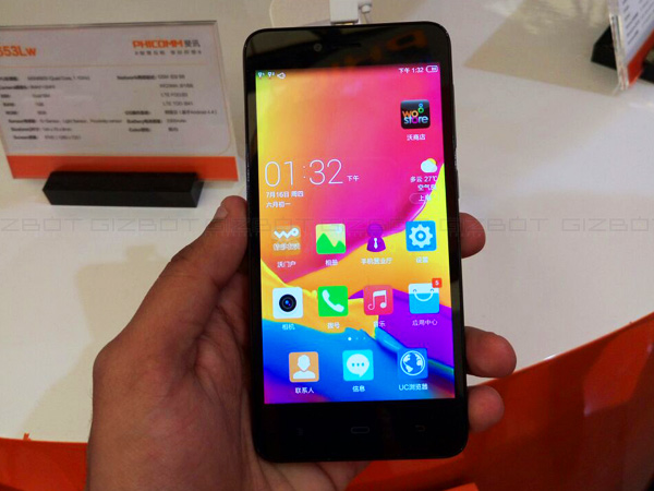 Exclusive: Phicomm E653Lw with 1GB RAM, 720p display Coming to India