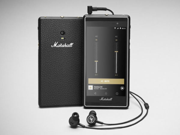 Marshall unveiled a 'Sound Centric' smartphone: An industry first!