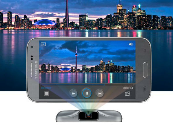 Samsung Galaxy Beam 2: A new projector Smartphone