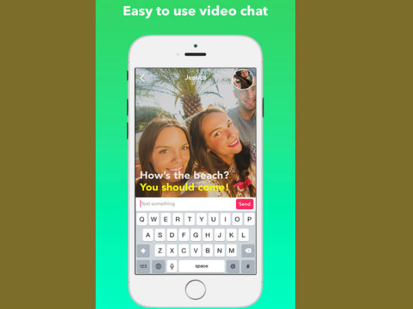 Yahoo launches 'silent' video texting app