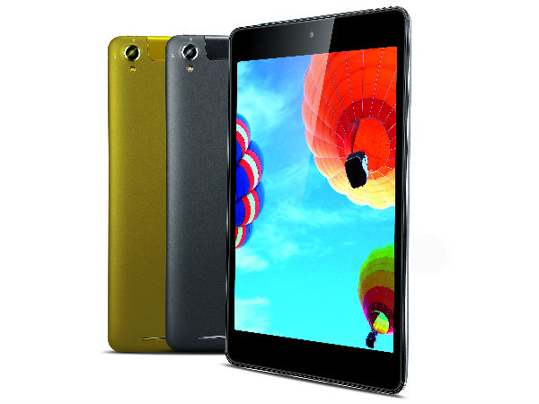 iBall Slide O900-C with 7.8-inch Display, Octa-Core CPU Launched