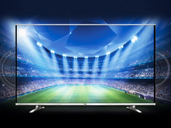 Vu TV with 42-inch full-HD Edge LED Launched at a Price of Rs 32,000