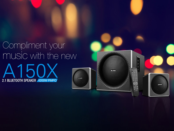 F&D launches launched new  A150X multimedia speaker at Rs 3,990