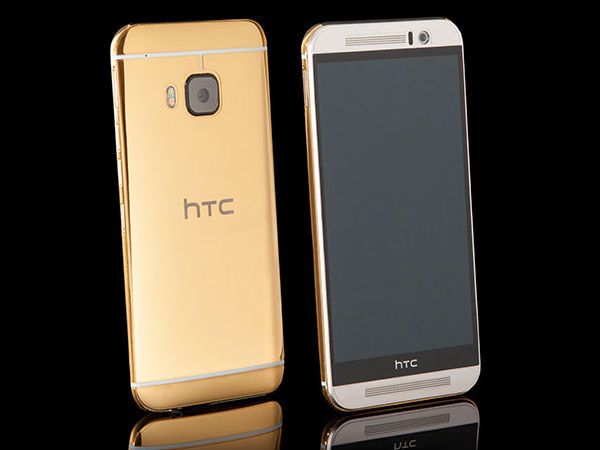 Grab your HTC One M9 24K gold edition from Goldgenie!