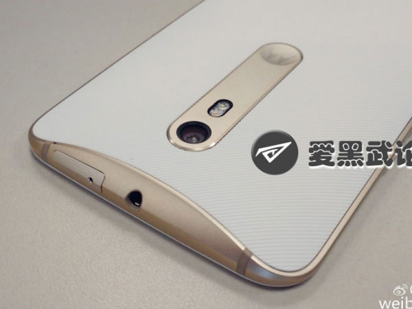 Motorola Moto X (2015) Pictures with Front Flash Leaked Online