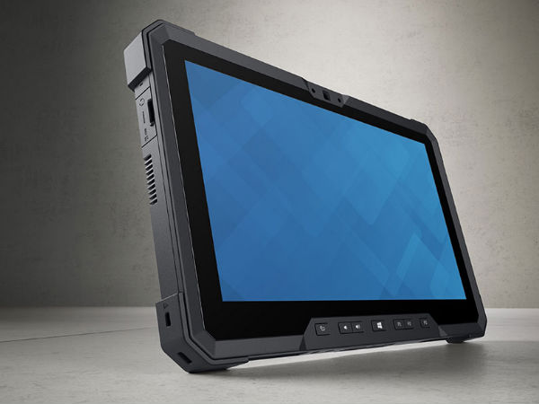 Dell Latitude 12 Rugged Tablet with Intel Core-X CPU Launched