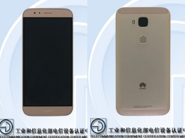 Huawei G8 with 2GB RAM, 13MP Camera Spotted at TENAA [Report]