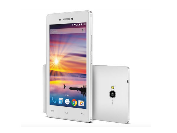 Lava Flair Z1 with 5-inch Display, 3G Connectivity Launched