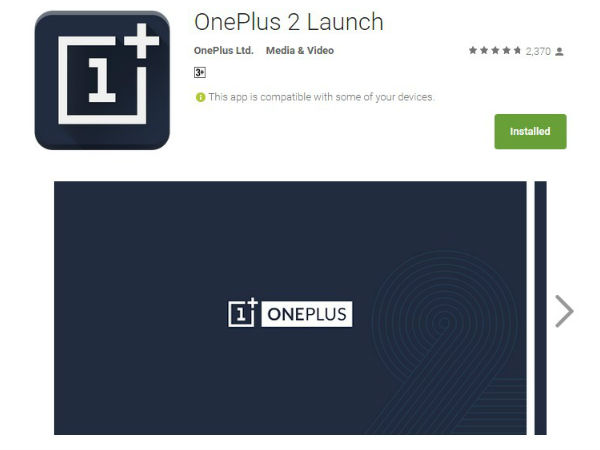 OnePlus 2 Launch on VR : Install Launch App