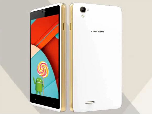 Celkon Millennia Xplore with 5-inch Display, Quad-Core CPU Launched