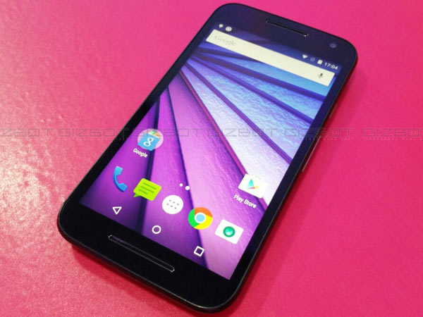 Motorola Moto G 3rd Gen with 5-inch Display, 4G LTE Launched