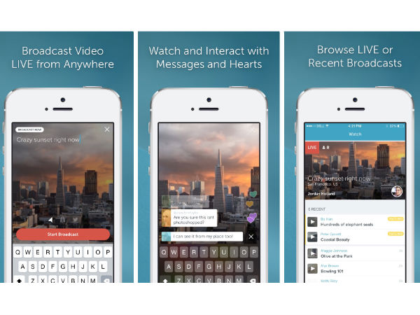 Periscope iOS app updated with Mute Notification and Handsoff support
