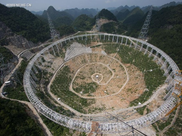 China to connect world's largest telescope to Supercomputer