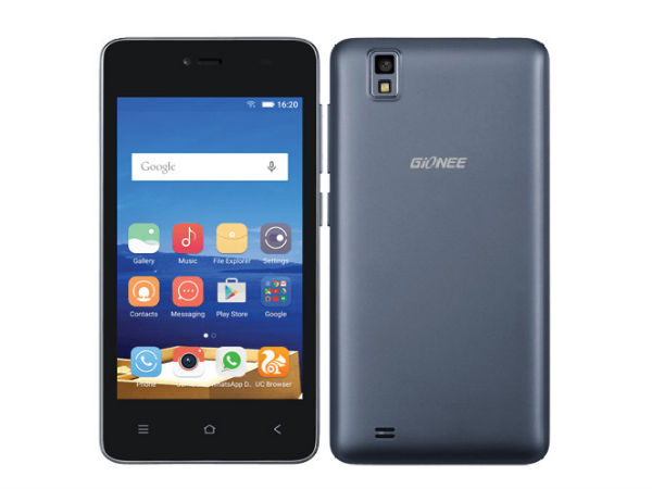 Gionee Pioneer P2M with 4-inch Display, Quad-Core CPU Launched