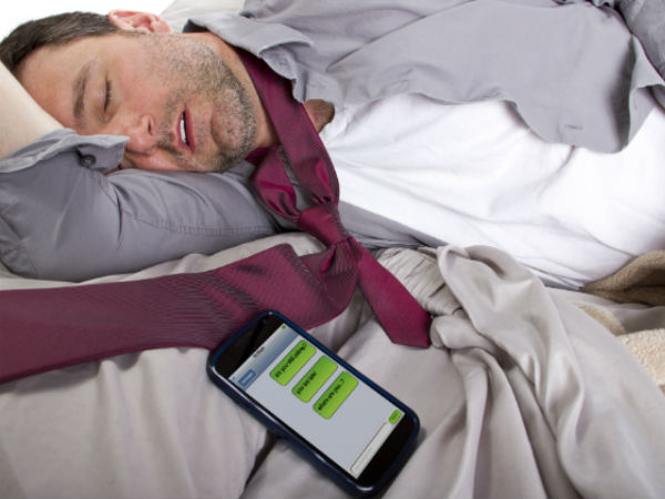 Smartphone 'cuddling partner' for 74 per cent Indians!