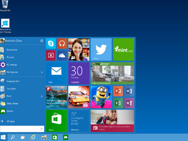 Microsoft Launches Windows 10 with Cortana and Edge Browser