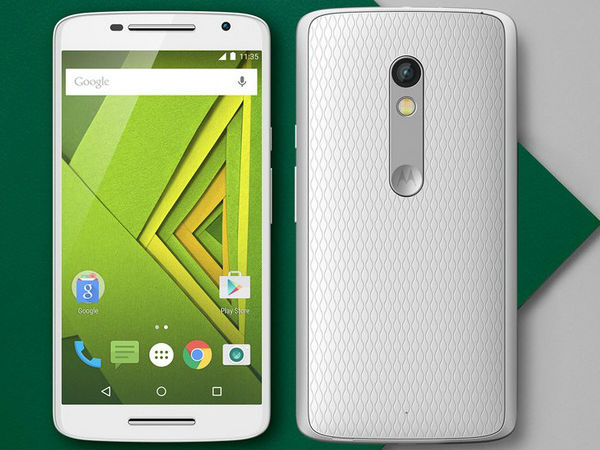 Motorola Moto X Play (21MP rear camera)