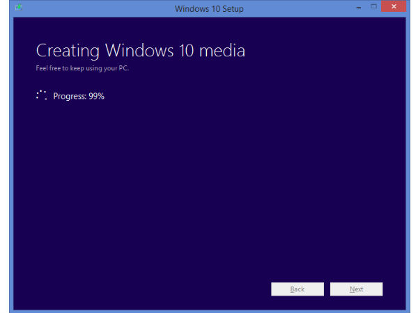 Step 4: Creating Window 10 Media