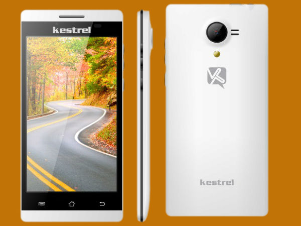 Kestrel KM 451 Smartphone Launched in India at Rs 6,190
