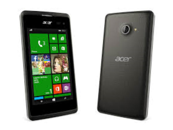Acer to launch 4 new Windows Phone at IFA 2015