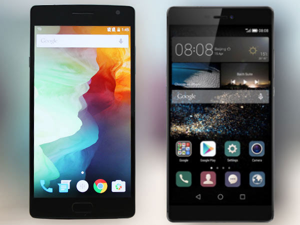 OnePlus 2 vs Huawei P8: Epic Chinese battle!