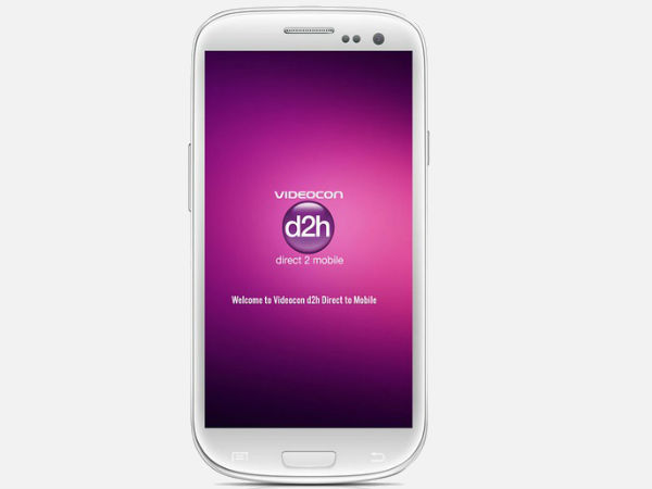 Videocon d2h launches TV application for smartphones