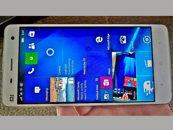Xiaomi Mi Pad with Windows 10 coming soon? [LEAK]