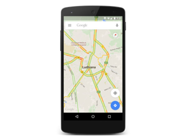 People Can Now Check Traffic Conditions in India on Google Maps