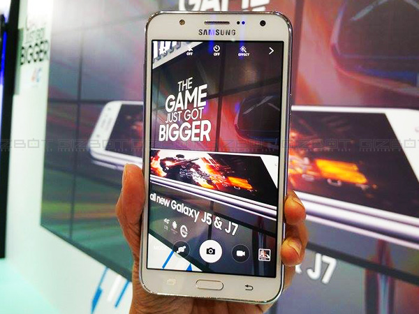 Samsung Unveils Selfie-Focused Galaxy J5 And Galaxy J7 in India