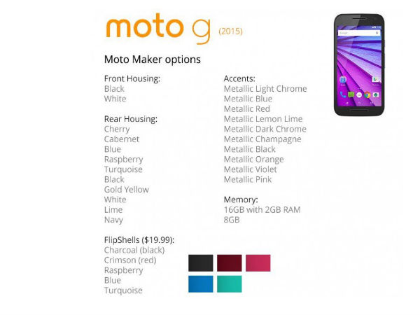 Moto G (2015) Promotional Video Leaked, Moto Maker Customization