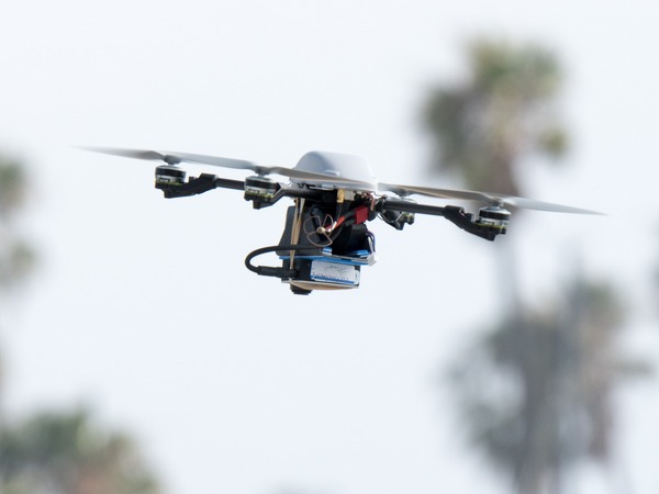 Amazon unveils drone traffic control system at NASA centre